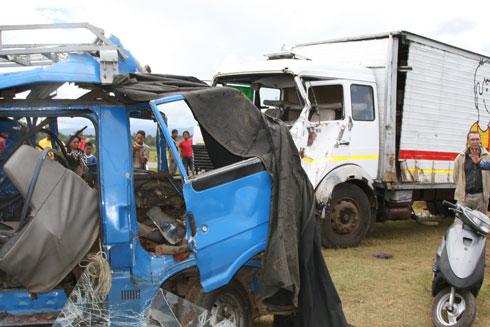 Accidents de la circulation : Appel aux responsables !