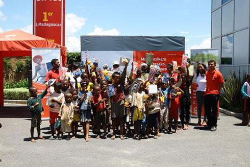 Airtel Madagascar : Les actions sociales se poursuivent