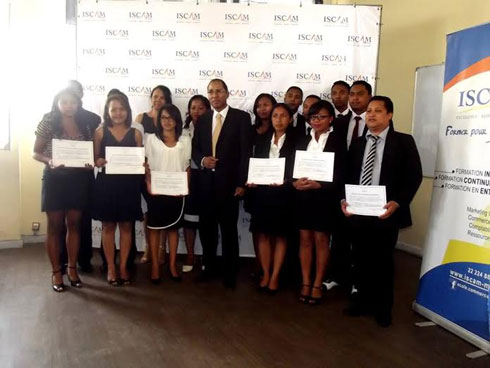 ISCAM : 17 professionnels gradués