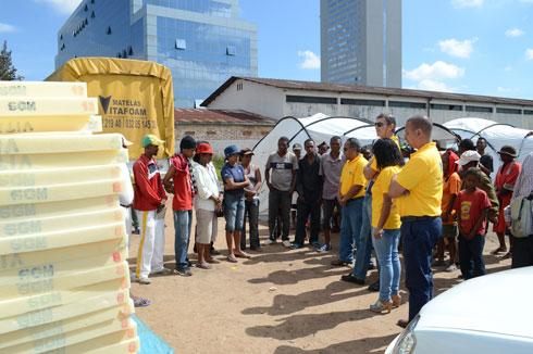 Aides aux sinistrés : Vitafoam poursuit son devoir de citoyen