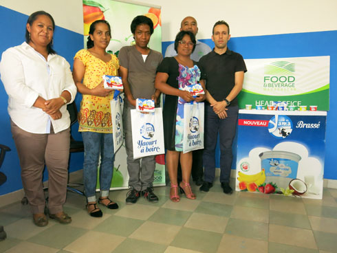 Food & Beverage : 3 600 bons d'yaourts distribués