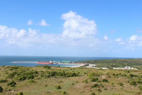 Port d'Ehoala : 103 escales de navires par an depuis 2009