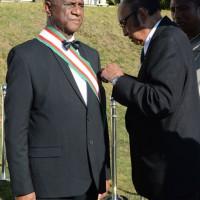 Gal Désiré Rakotoarijaona : Elevé à la dignité de Grand Croix de deuxième classe