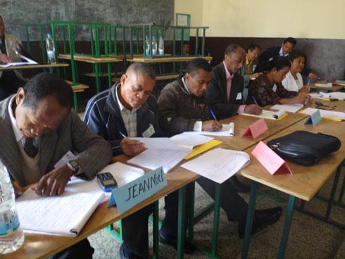 MEN : Atelier national sur les normes pédagogiques, administratives et financières