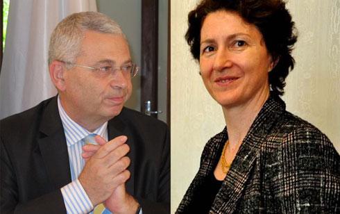Ambassade de France : François Goldblatt va passer le relais à Véronique Vouland