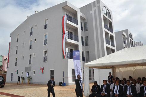 SEIMAD : 69 logements de la Résidence Ainga inaugurés hier