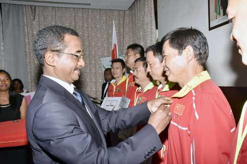 Stage en Chine, 98 sportifs et entraîneurs sur le départ