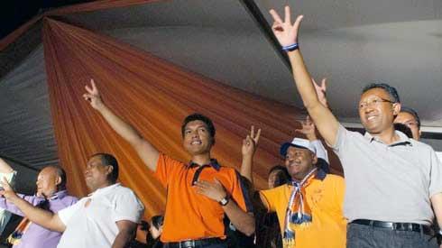 Ambilobe, Mahajanga, Vohipeno : Rajaonarimampianina suit à la trace Andry Rajoelina