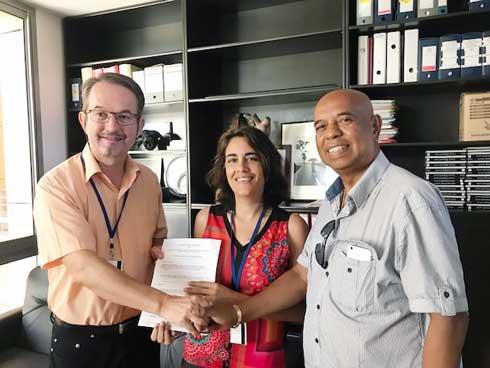 Groupe JCR – CYROI : Un partenariat pour une recherche  scientifique de très haut niveau