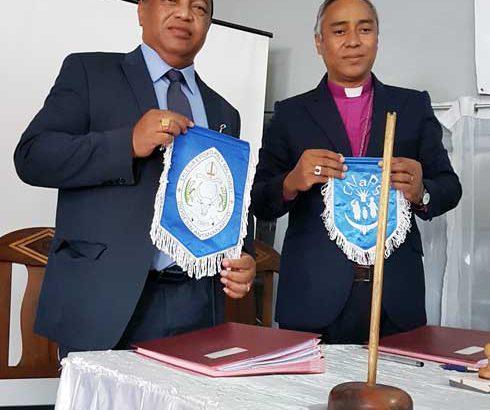 Eglise anglicane et CNaPS : Promotion de la protection sociale