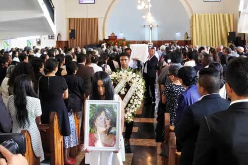 Manjaka Ilafy : Emouvantes obsèques de « Madame Fafah »