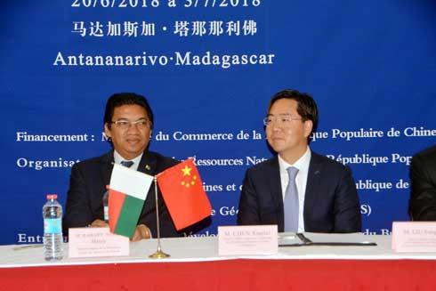 Madagascar-Chine : Rehausser le niveau des techniciens sur la géologie minérale