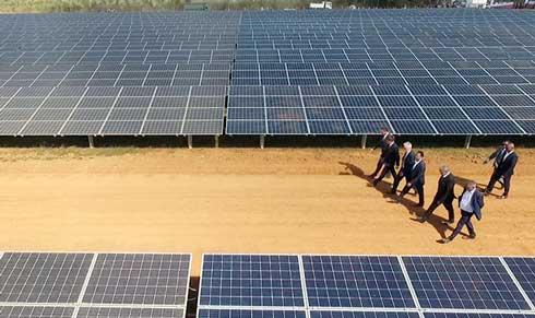 Energie solaire : Une centrale photovoltaïque de 20 MW inaugurée à Ambatolampy