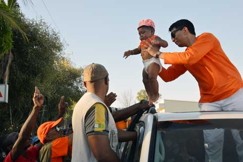 Foule monstre hier à Mahajanga : Andry Rajoelina réclame la date du premier tour