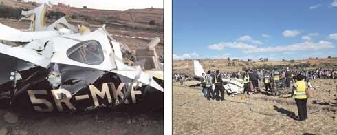 Exercice de vol : Cinq morts lors du crash d'un avion à Ampangabe-Ambohitrimanjaka
