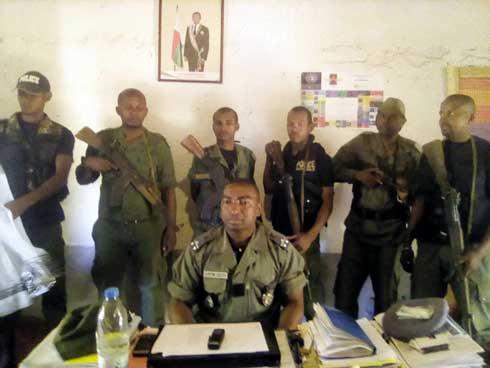 District de Manja : La police récupère 26 bœufs volés
