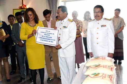 COOPERATION  La Thaïlande aide des centres sociaux malgaches