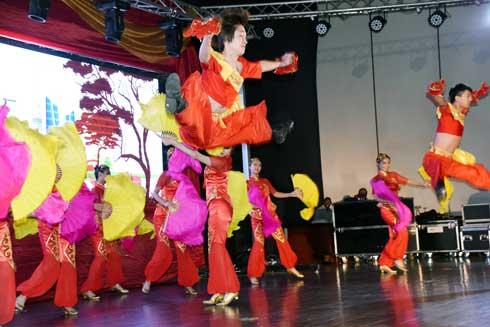 Tournée culturelle de Nanjing : Prestation spectaculaire des artistes chinois.