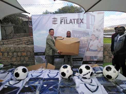 Football – Groupe Filatex : Des équipements sportifs pour 26 clubs