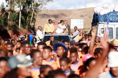 Andry Rajoelina à Ihosy : « Ceux qui s'attaquent à mes enfants s'attaquent au peuple malgache »