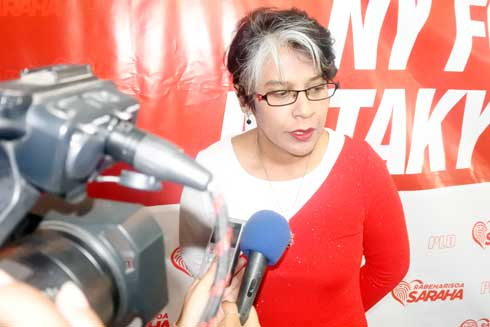 Présidentielle 2018 : Saraha Rabeharisoa candidate