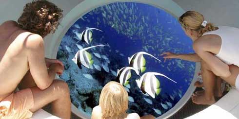 Tourisme : Un bateau en fond de verre à Nosy-Be