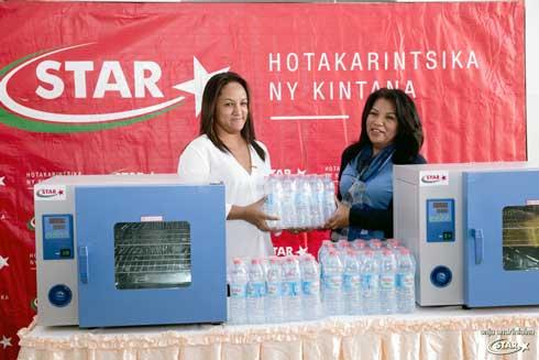STAR : 7200 bouteilles d'Eau Vive pour les enfants hospitalisés