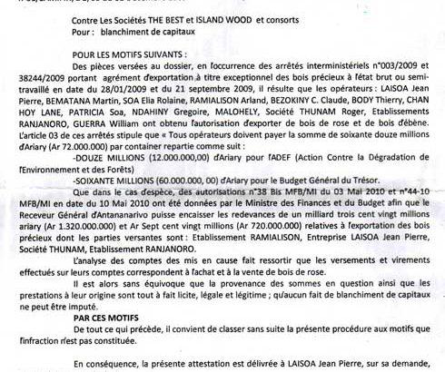 Député Jaovato : Refus illégal de déblocage de son compte bancaire