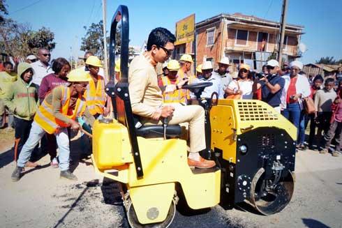 Andry Rajoelina : En terrain conquis à Antsirabe