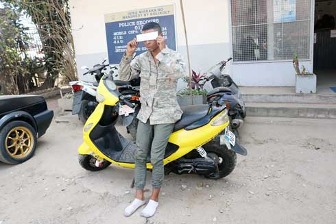 Ampefiloha : Pris en flagrant délit, un voleur de moto tente de corrompre la police