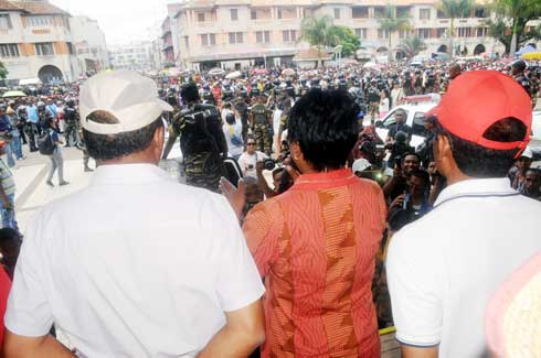 Place du 13 mai: Fraudes électorales massives dénoncées par les partisans de Ravalomanana