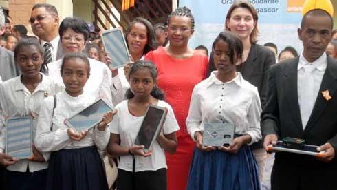 Technologies digitales : Ouverture solennelle de l'Ecole numérique 2018-2019 à Bemasoandro Itaosy