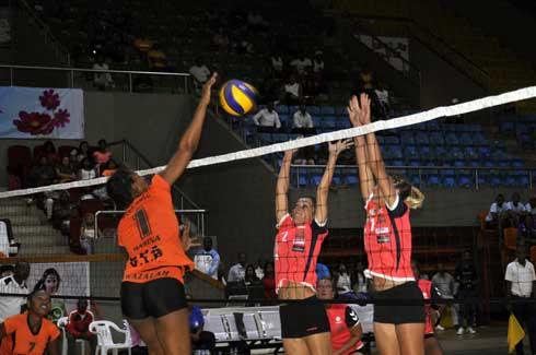 Volley-ball – CCC Zone 7 : Bi'AS domine ARSU des Seychelles