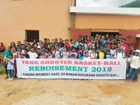 Basket-ball – Tana Shooters : Le club vise le titre cette année