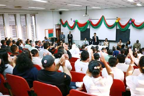 Andry Rajoelina : Rencontre avec la diaspora malagasy au Kenya
