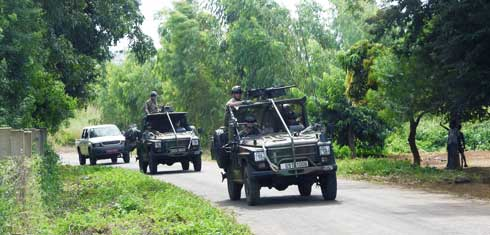 « Varatraza 2019 » : Manœuvre militaire à Antsiranana