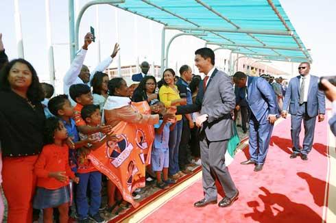 Andry Rajoelina : Rencontre avec la diaspora au Sénégal
