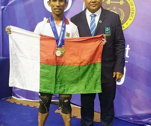Haltérophilie – Championnats d'Afrique : Six médailles d'or pour Eric et Rosina