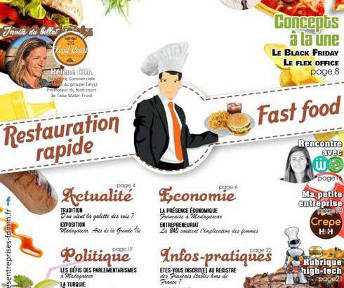 FRANÇAIS DU MONDE MADAGASCAR : Présentation du  « billet des entreprises » par Jean Daniel Chaoui