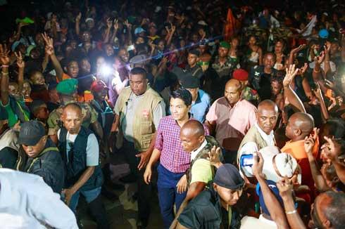 Andry Rajoelina : Tournées dans le cadre des fonctions présidentielles