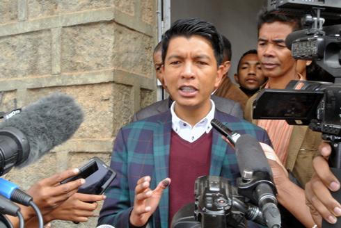Andry Rajoelina : « Il n'est pas interdit d'assister à une campagne électorale »