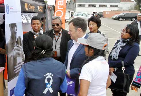Journée santé et sécurité : Orange Madagascar, soucieuse du bien-être de ses salariés