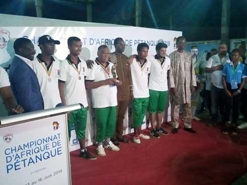 Pétanque – Championnat d'Afrique : Madagascar remporte la Coupe des Nations