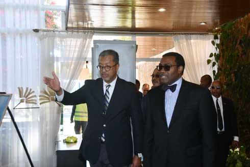 BAD : Akinwumi Adésina confirme son soutien au régime Andry Rajoelina