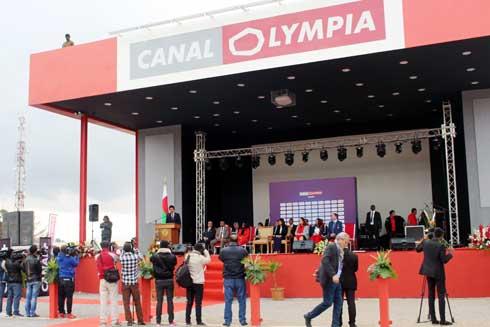 CanalOlympia : Une nouvelle salle de cinéma à la pointe de la technologie à Tana