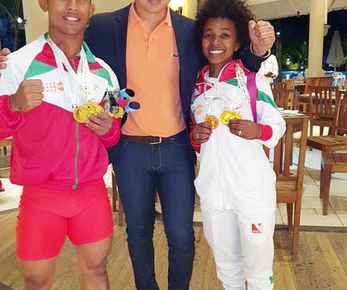 Jeux des Iles : Madagascar deuxième avec 49 médailles d'or