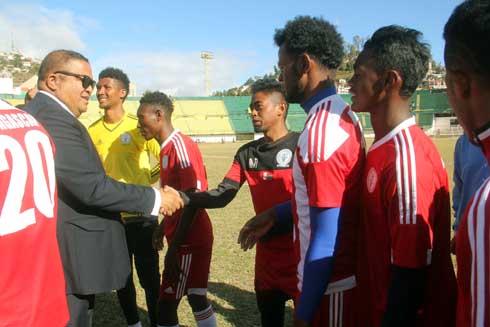 Football – Jeux des Iles : 15 millions ariary pour les Barea