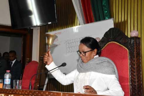 Assemblée nationale : Christine Razamahasoa élue présidente