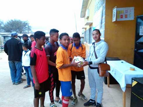 Drjs Alaotra Mangoro : Du sport pendant les vacances