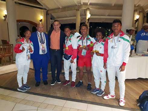 Jeux Africains : Une délégation de 98 personnes pour Madagascar